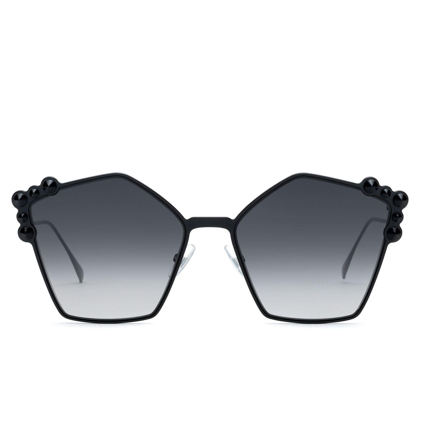 ec2f1d955d53 Fendi 0261 Sunglasses in Black - Lyst