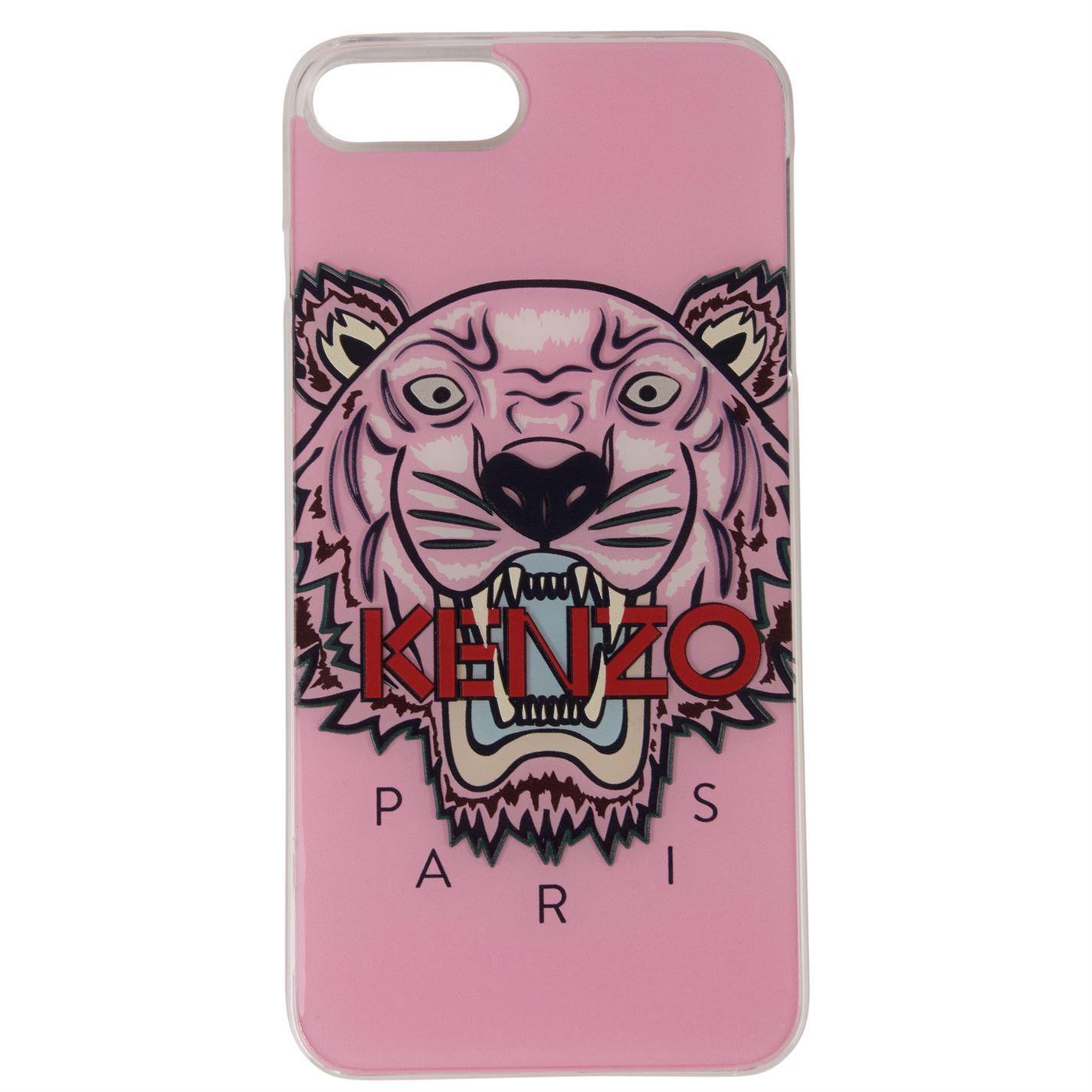 kenzo Faded Pink 34 Iphone 8 Plus Acrylic Logo Case
