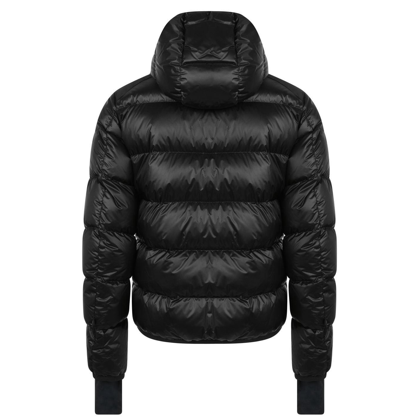 aa670c9955b28 Moncler Grenoble - Black Hintertux Padded Jacket for Men - Lyst. View  fullscreen