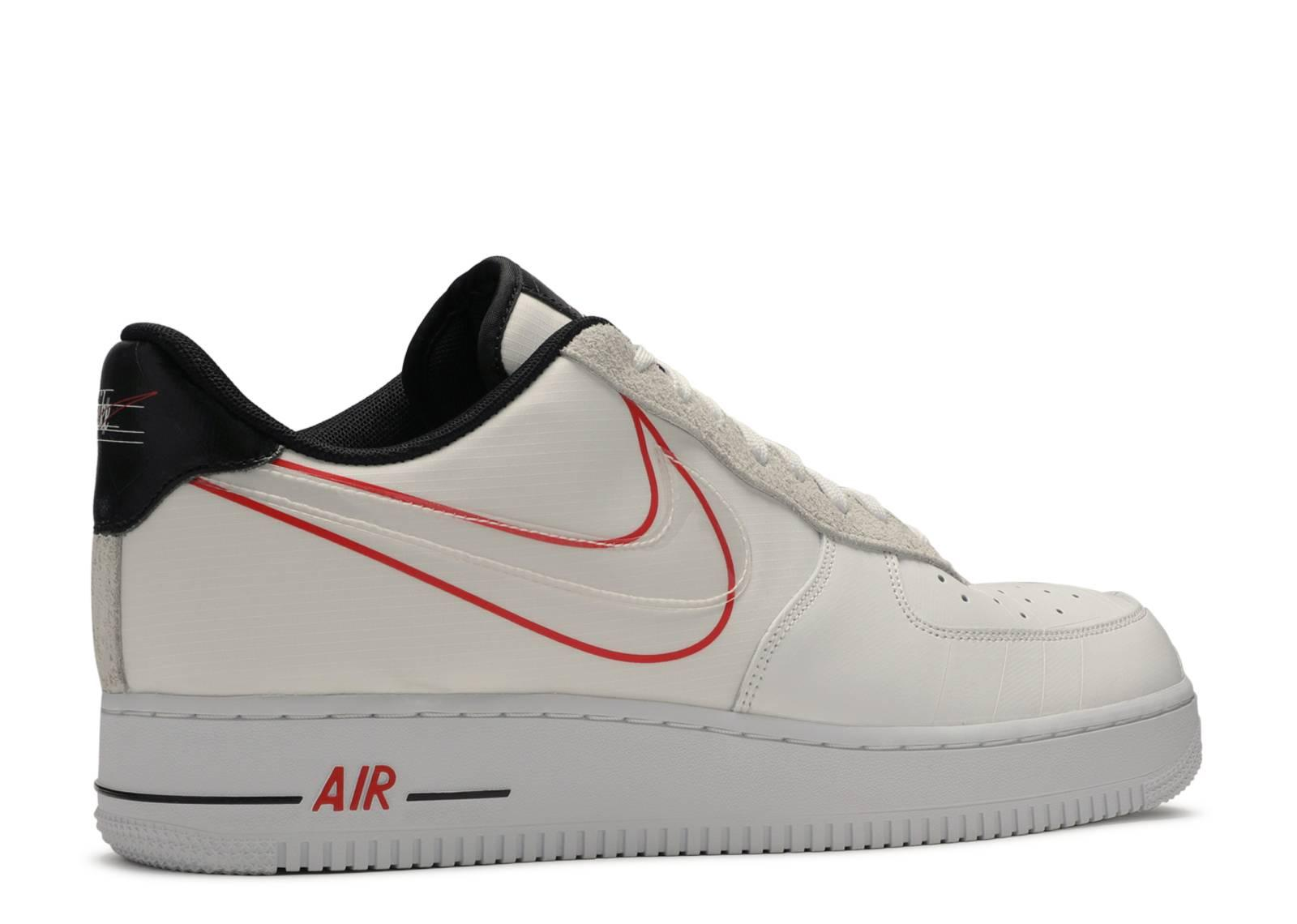 Engañoso A gran escala Mus  Nike Air Force 1 Low Script Swoosh Pack in White/Black-University Red  (White) for Men - Save 38% - Lyst