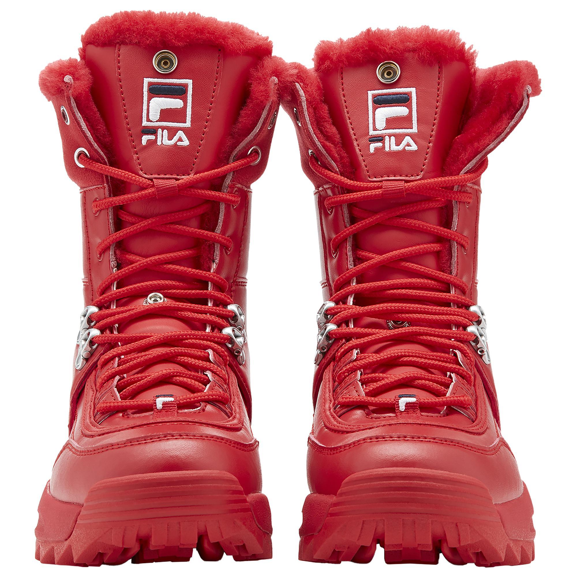 Fila Leather Disruptor Boot Ii - Shoes