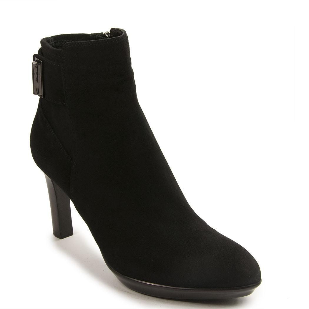 d3b0ceee2dff Lyst - Aquatalia Ankle Bootie in Black