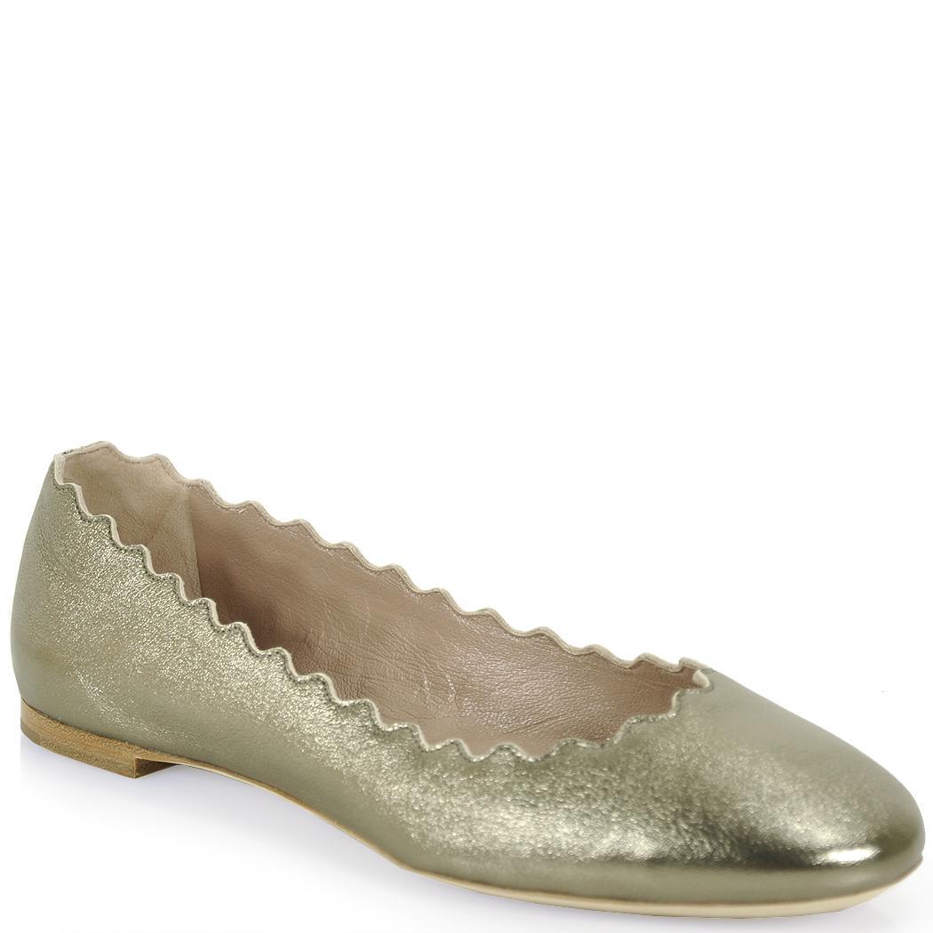 Chloé Ballet pumps nappa leather Rivets M31XOen