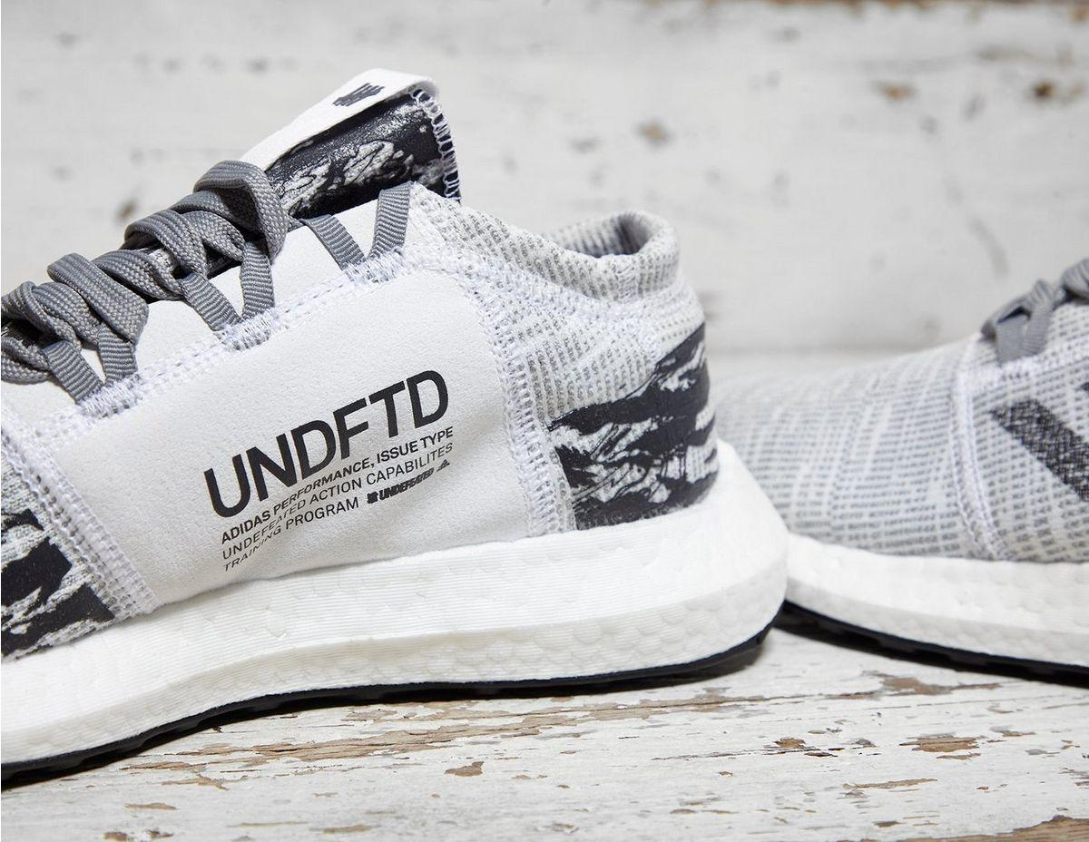 418fa93fc1edac Lyst - adidas X Undefeated Pure Boost Go in Gray for Men