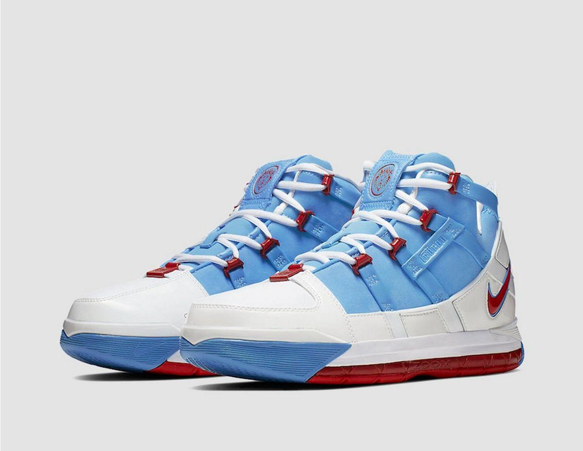 uk availability f8fae 1284d Nike - Blue Zoom Lebron 3 Qs for Men - Lyst. View fullscreen