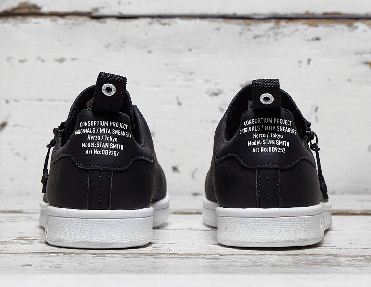 low priced 72102 bc528 Adidas Originals Black X Mita Stan Smith for men