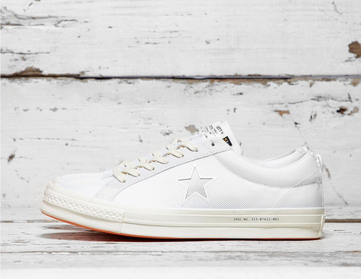 9cc4b9e35f392 Lyst - Converse X Carhartt Wip One Star Ox in White for Men - Save 1%