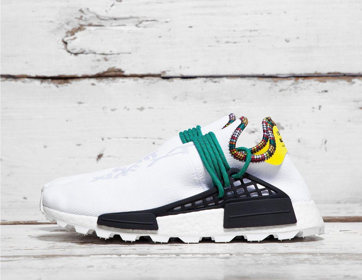 best sneakers ee14d 94145 adidas Originals. Men s White By Pharrell Williams Solarhu ...