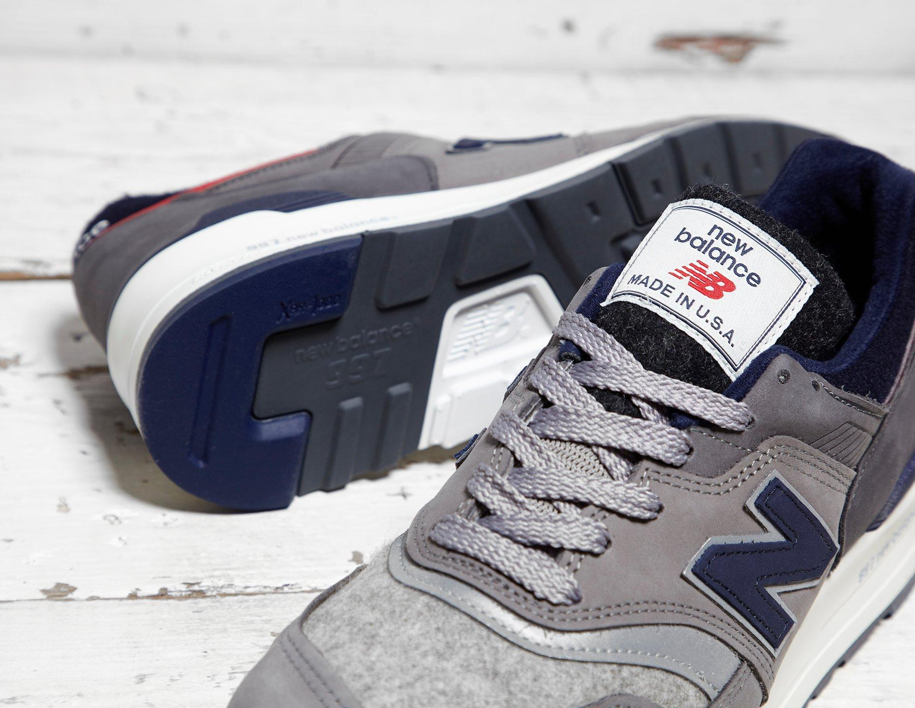 uk availability f1923 37083 New Balance Blue X Woolrich 997 for men
