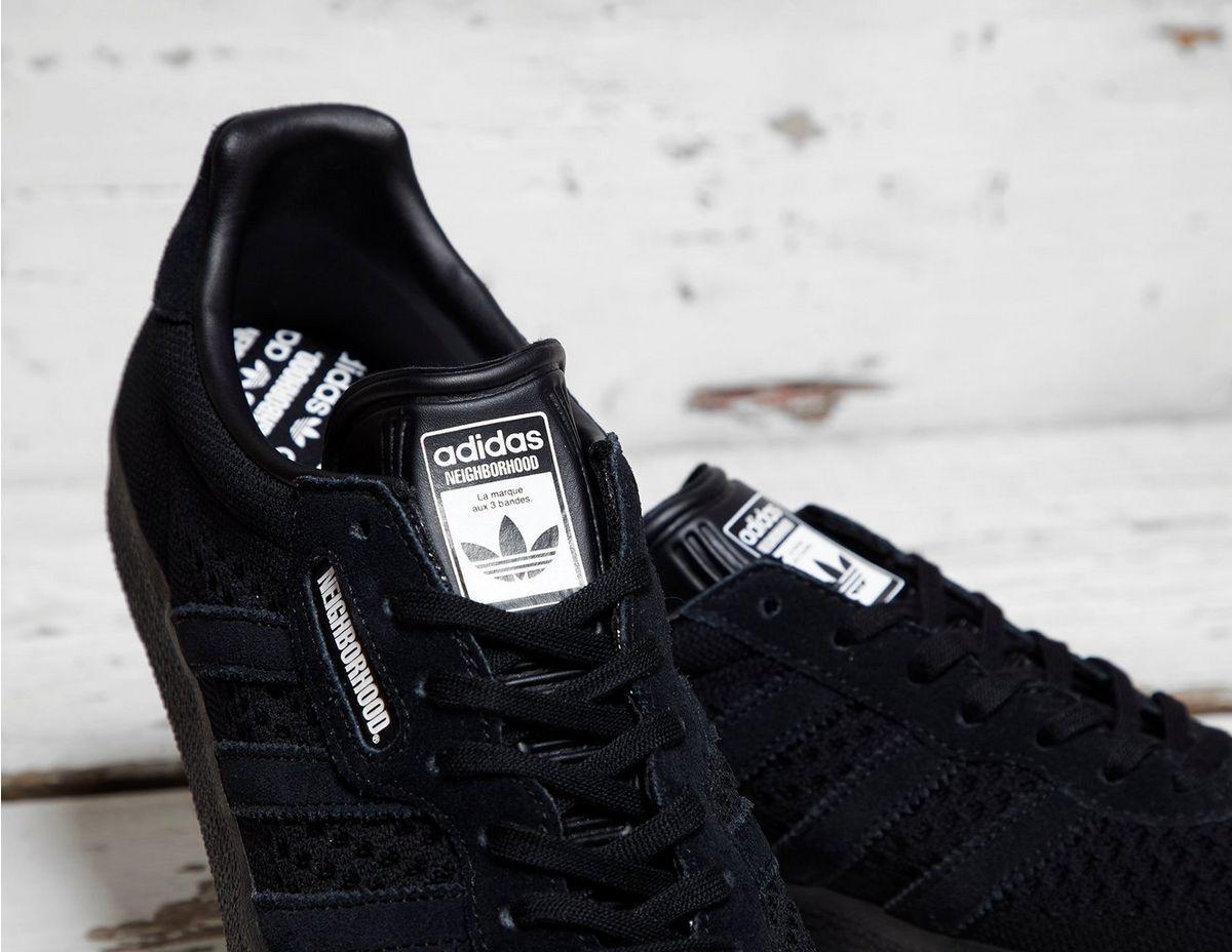 newest 3fd96 ae305 Adidas Originals Black Adidas X Nbhd Gazelle Super for men