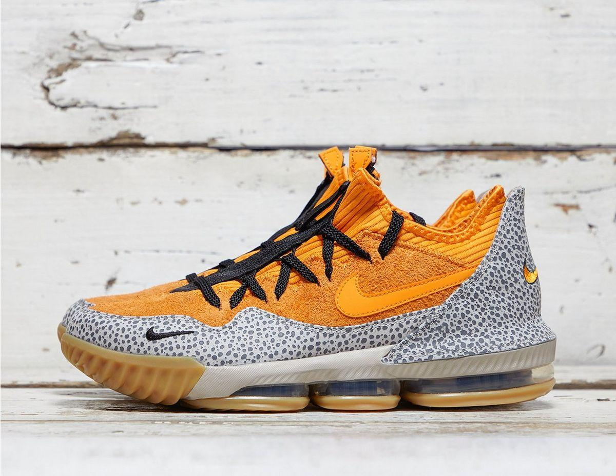 18a8d1e1ebb Lyst - Nike X Atmos Lebron Xvi Low Qs in Orange for Men