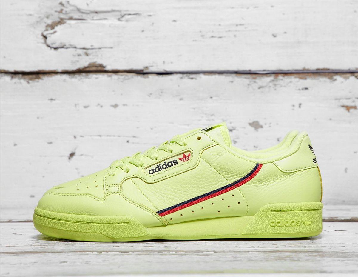 purchase cheap a575f 0695e adidas Originals. Mens Yellow Continental 80