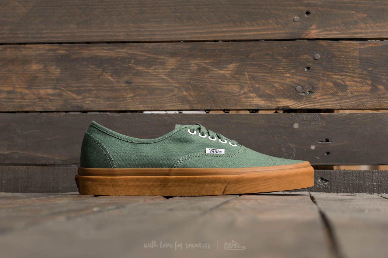 Vans Canvas Authentic Duck Green/ Gum