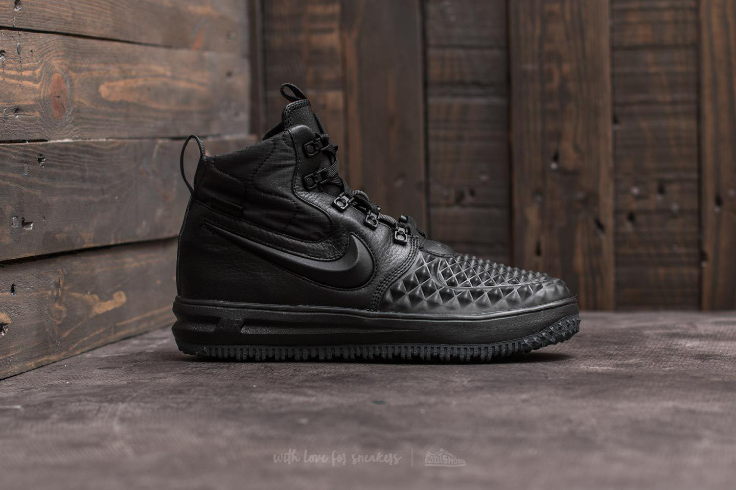 new arrival 8b881 151ed Nike Lunar Force 1 Duckboot  17 (gs) Black  Black-anthracite in ...
