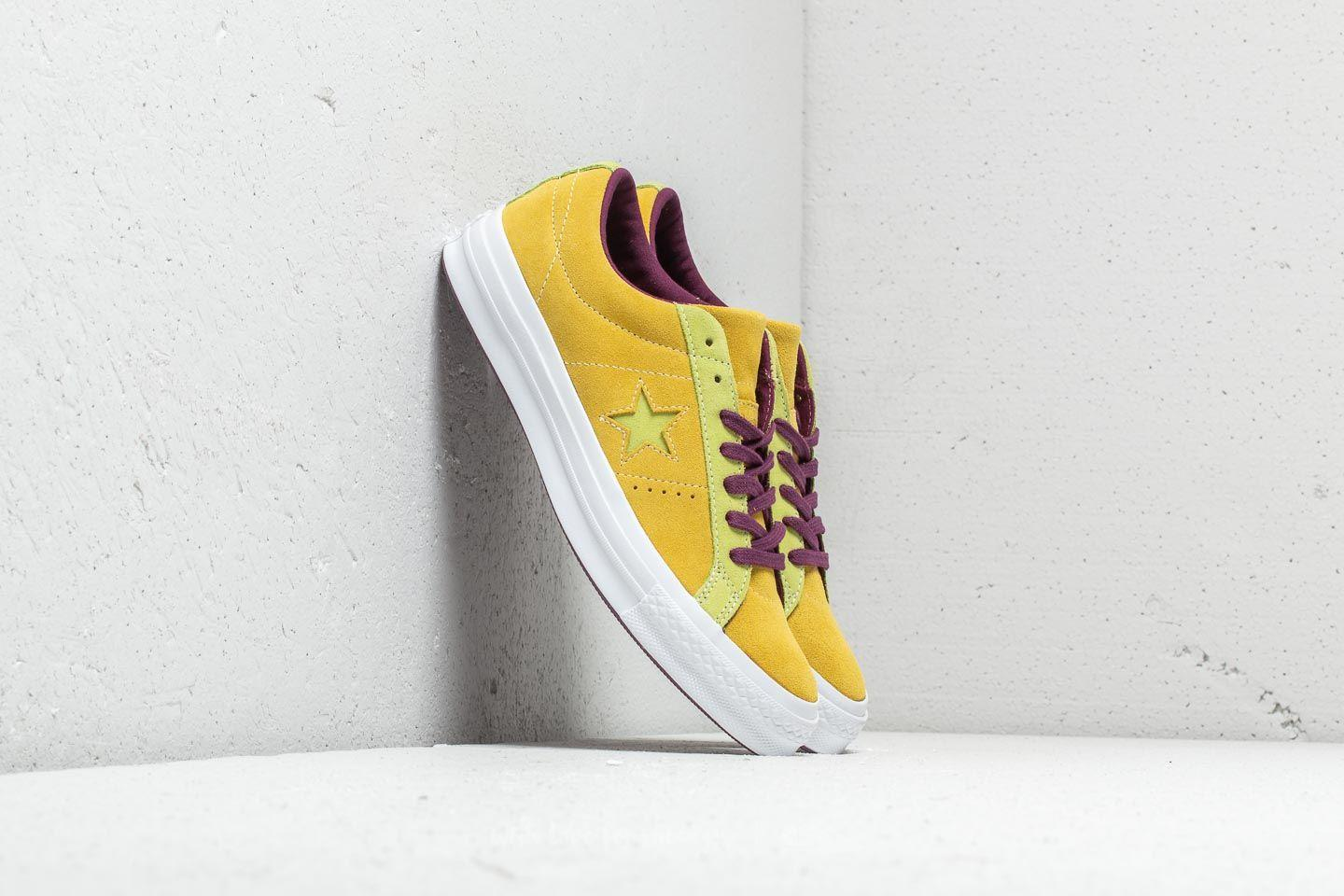 Converse Suede One Star Ox Apple Green