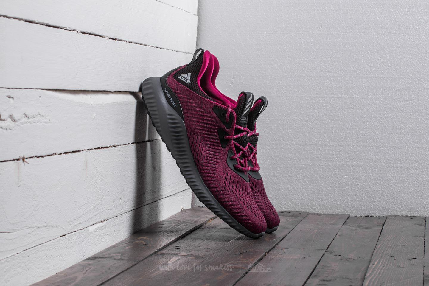 outlet store 8b12b 80af3 Lyst - Footshop Adidas Alphabounce Em Mystery Ruby Core Blac