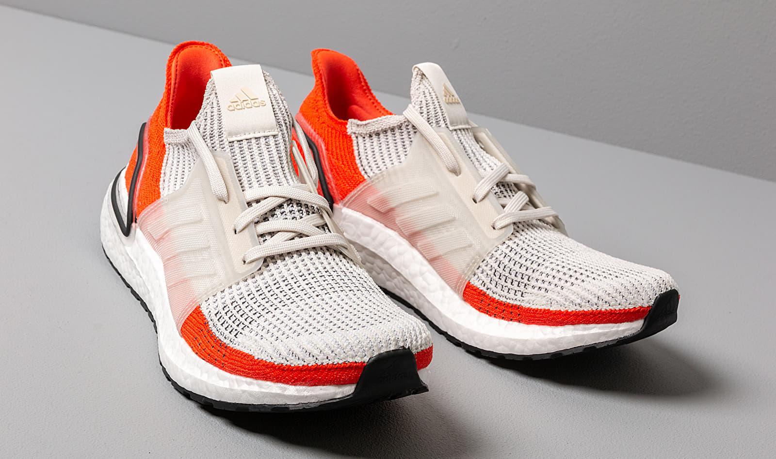 Adidas Ultraboost 19 Raw White/ Ftw White/ Active Orange