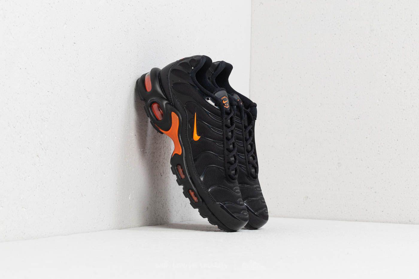 new style ee41f f088c Men's Air Max Plus Tn Se Black/ Total Orange