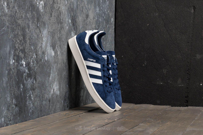 hot sale online c054c 593f8 adidas Originals. Mens Adidas Campus Dark Blue Ftw White Chalk White