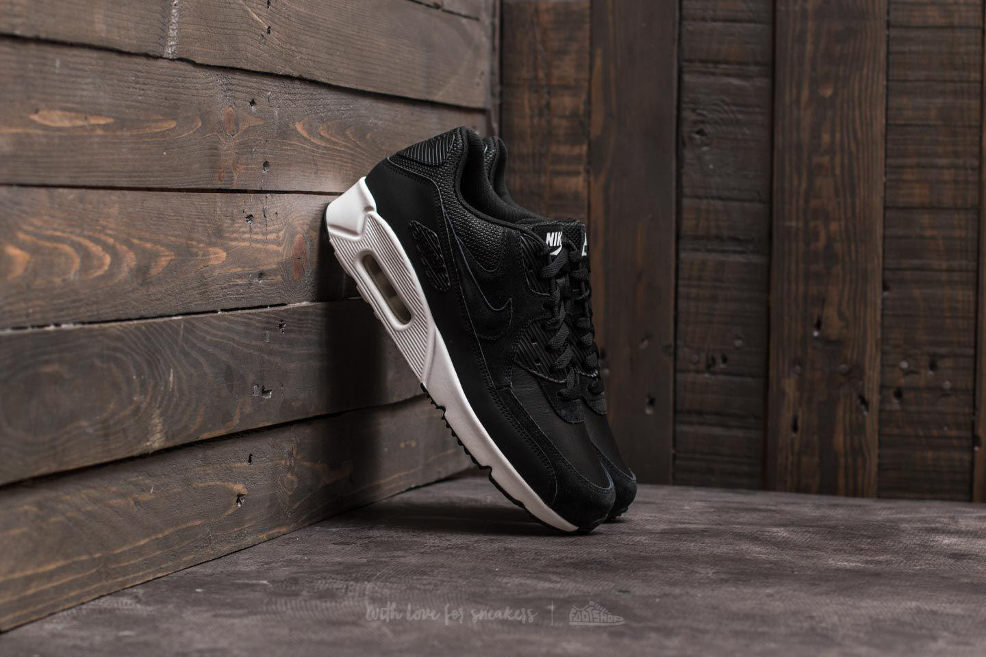 Nike Air Max 90 Ultra 2.0 Leather Black/ Black for Men - Lyst