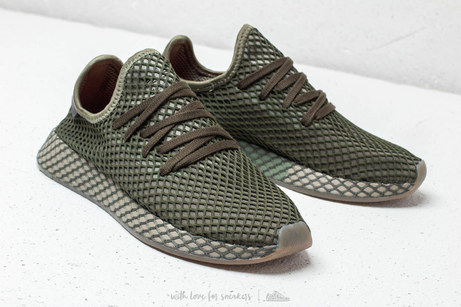9a82babafde59 Lyst - adidas Originals Adidas Deerupt Runner Base Green  Base Green ...