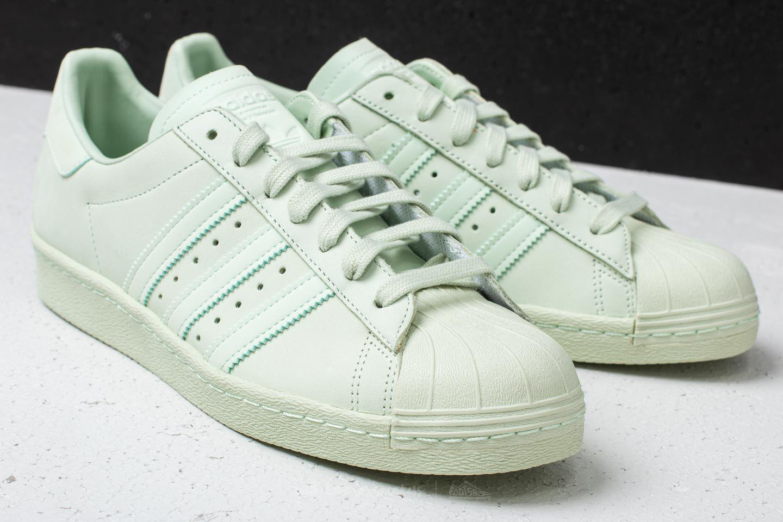 brand new 2cc05 649ed Lyst - adidas Originals Adidas Superstar 80s Aero Green Aero