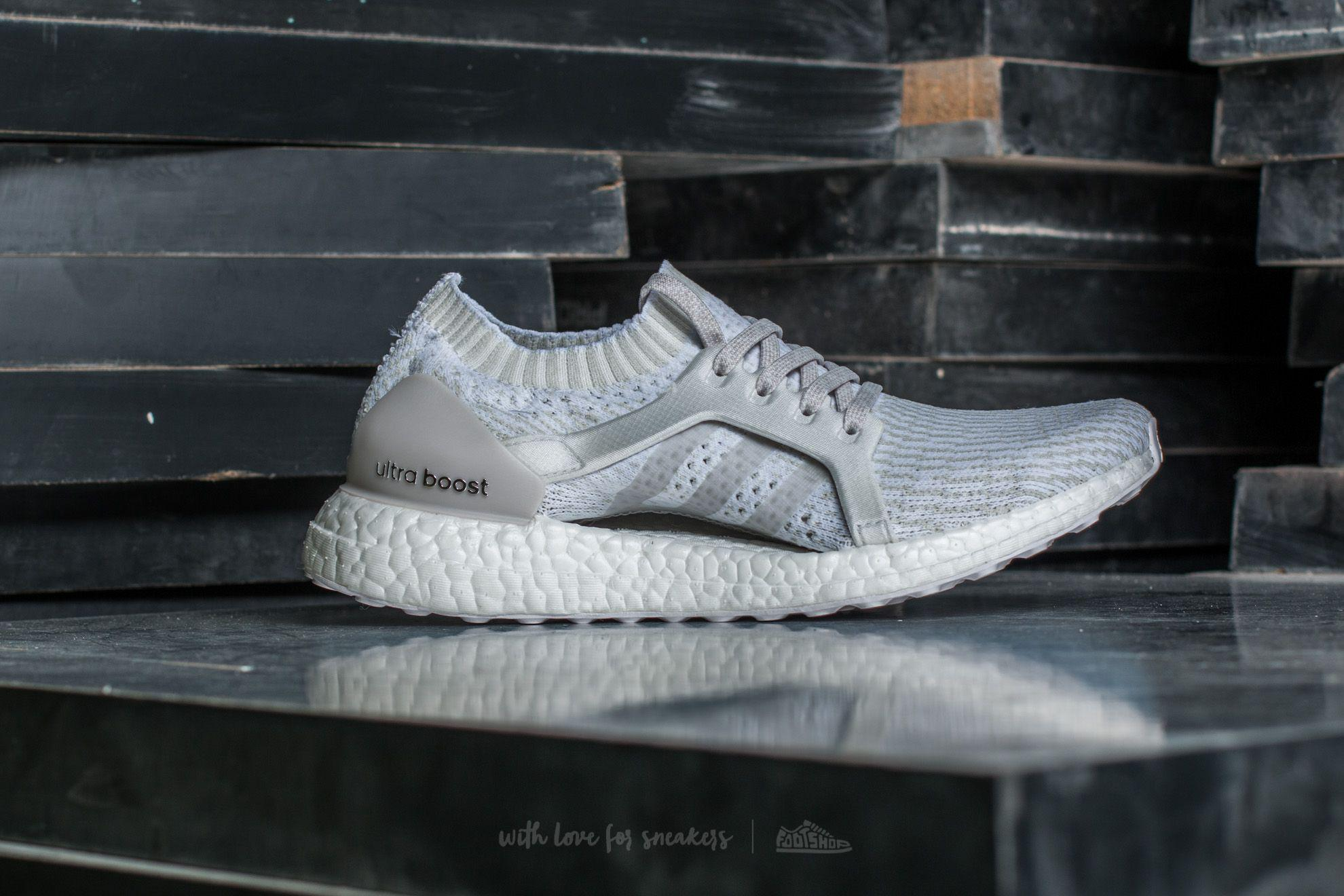 new concept ae829 f8e0e ... inexpensive lyst footshop adidas ultraboost x ftw white pearl grey  crystal 06811 1c388
