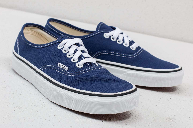 2a51569caf Vans Authentic Estate Blue/ True White in Blue for Men - Lyst