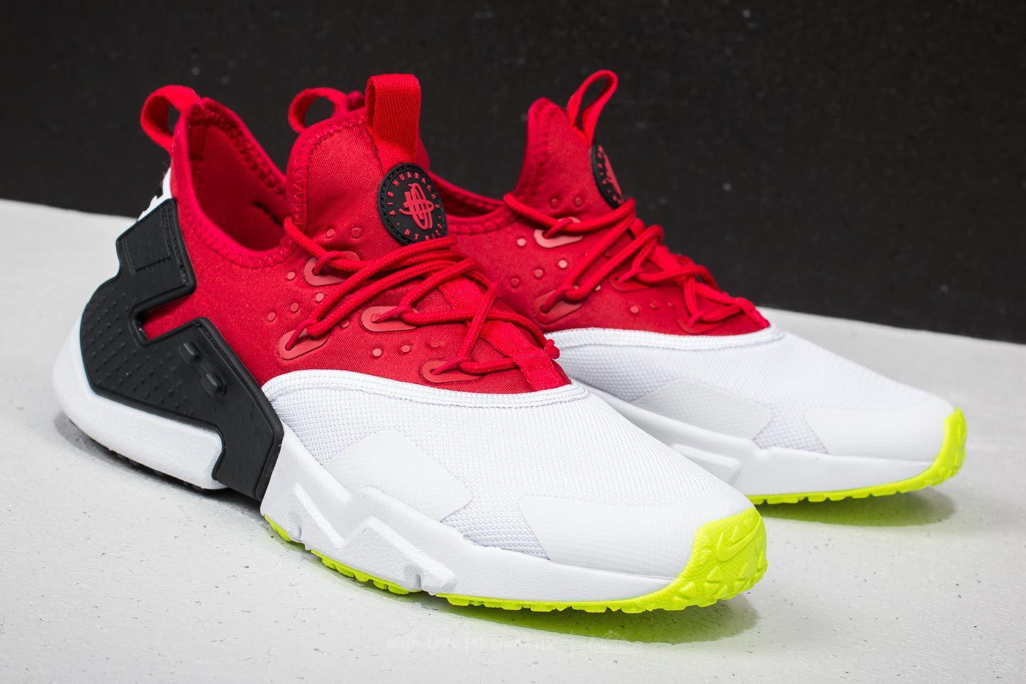 cf6ff7d319ea7 ... sweden lyst nike air huarache drift gym red white black volt in red for  men a611c