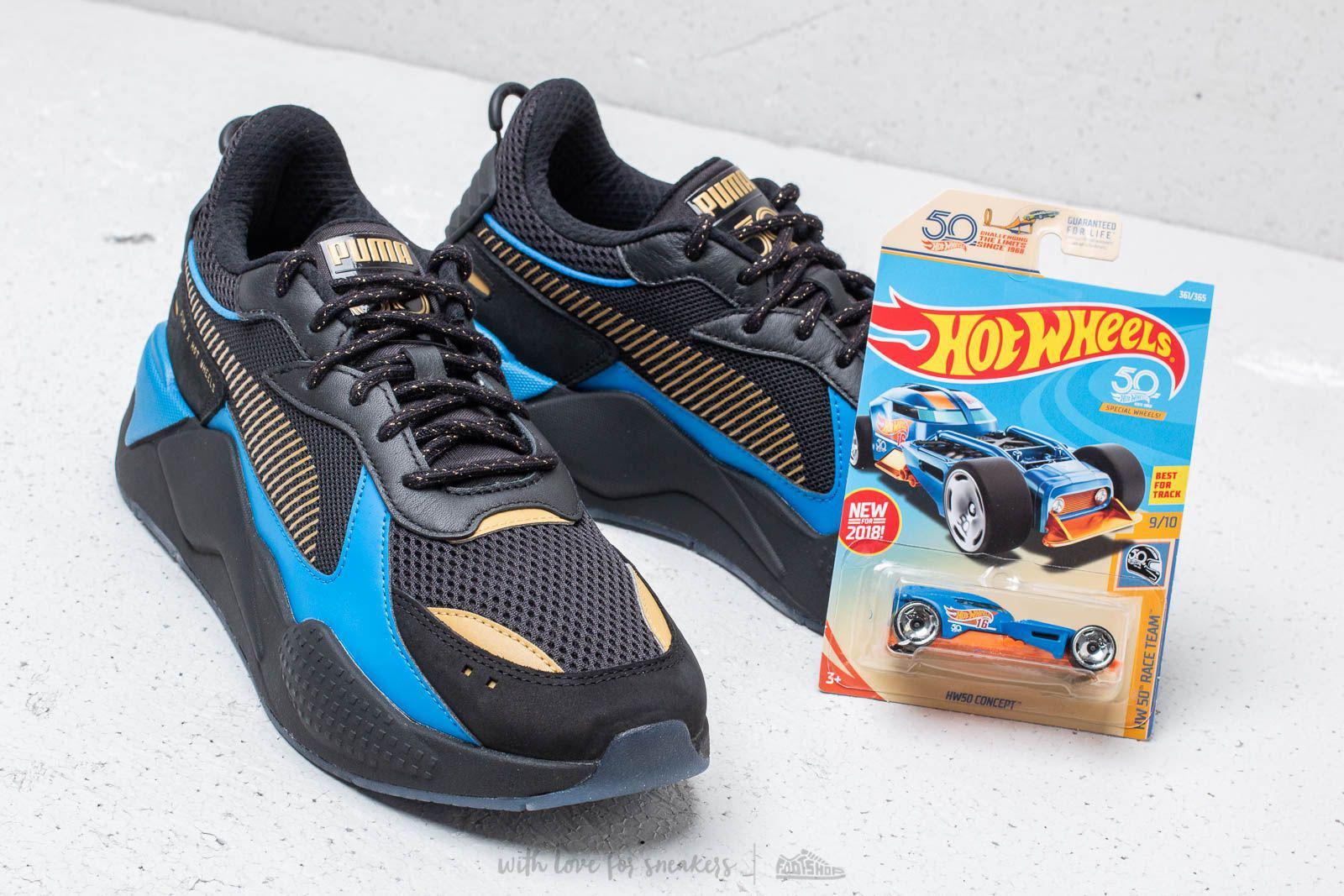 X Toys Hot Wheels Rs-x Bone Shaker Black/ Team Gold