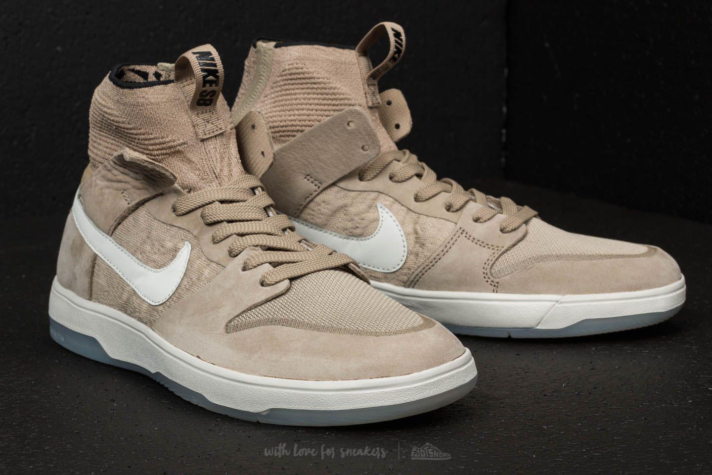 cheap for discount 05fe8 39fa9 Nike Sb Zoom Dunk High Elite Khaki/ Light Bone/ Black for men