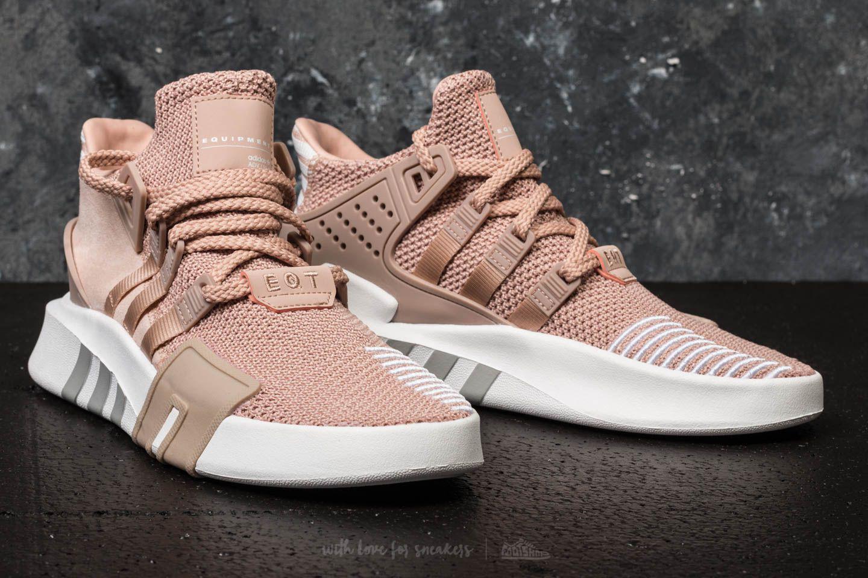ca54010d8742 Lyst - adidas Originals Adidas Eqt Bask Adv W Ash Peach  Ash Peach ...