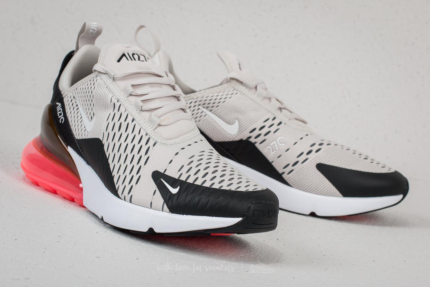 Nike Air Max 270 BlackLight Bone Hot Punch For Sale | New