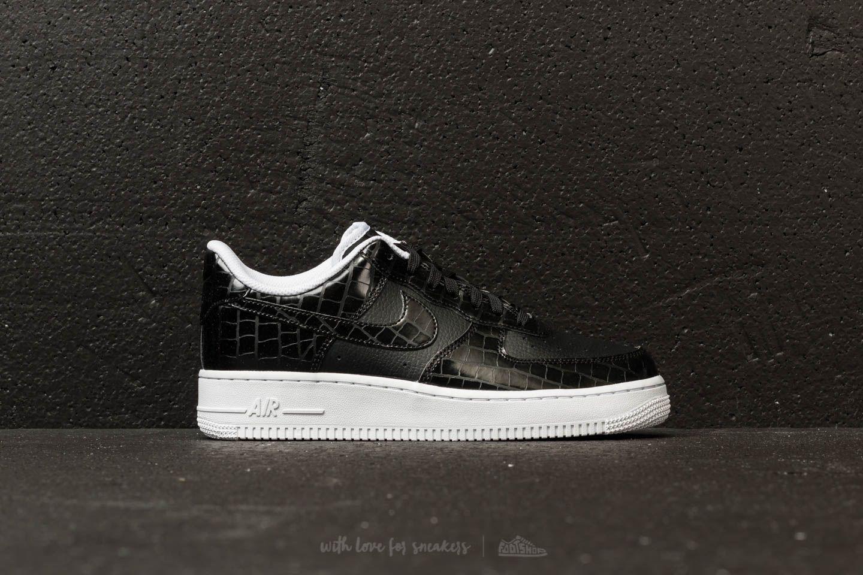 Nike Rubber Air Force 1 ́07 Essential Wmns Black/ Black-white - Lyst