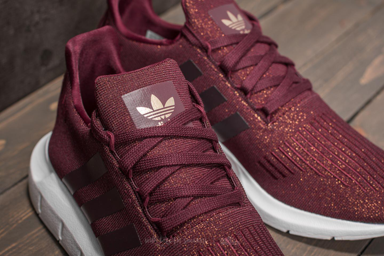 adidas swift run women's burgundy Shop