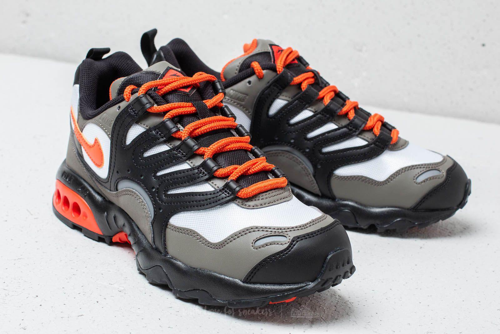buy popular d8f2b 0616a Lyst - Nike Air Terra Humara  18 Olive Gray  Deep Orange-black for Men