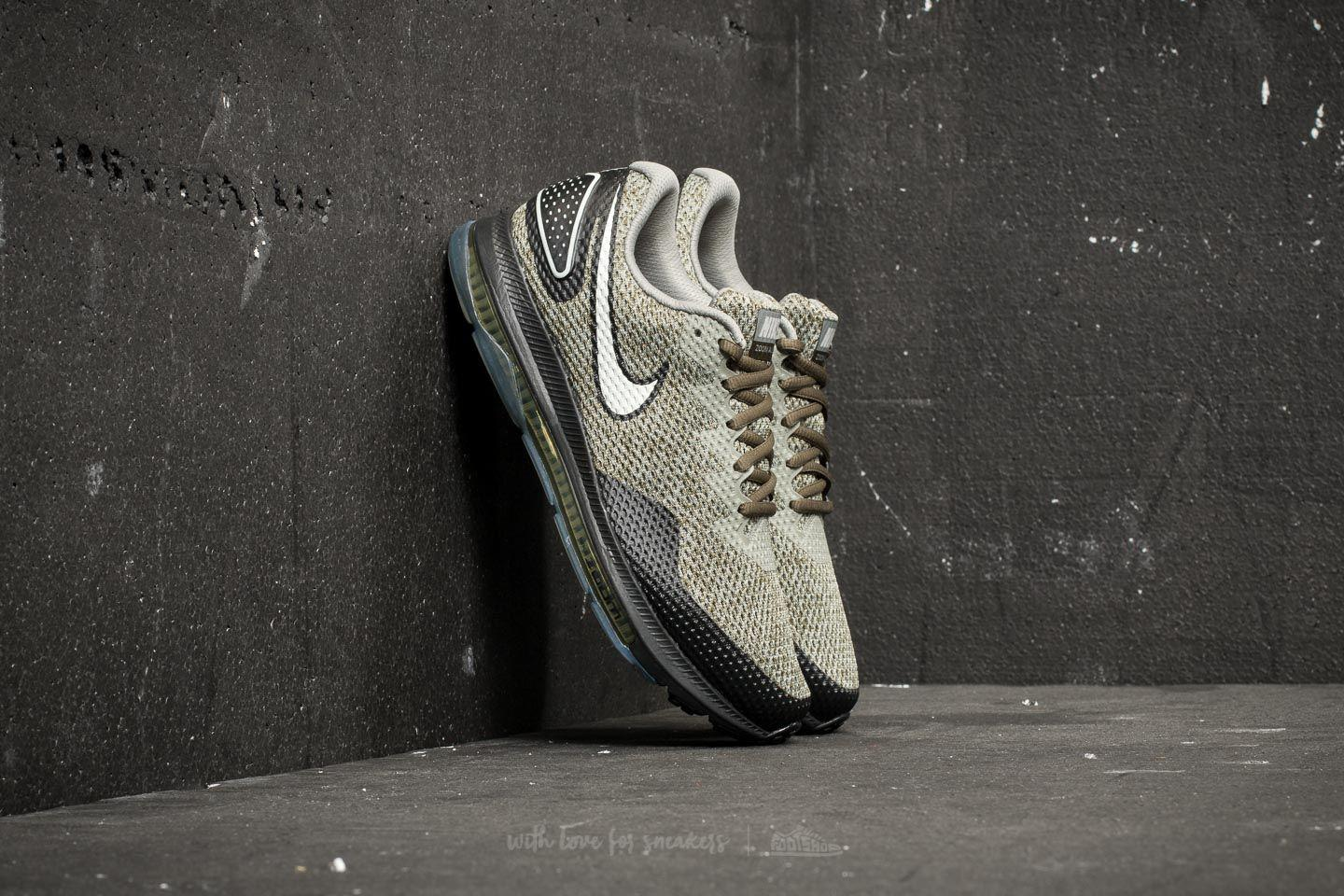 73c954d7c1a1 Lyst - Nike Zoom All Out Low 2 Cargo Khaki  Light Bone-black in ...