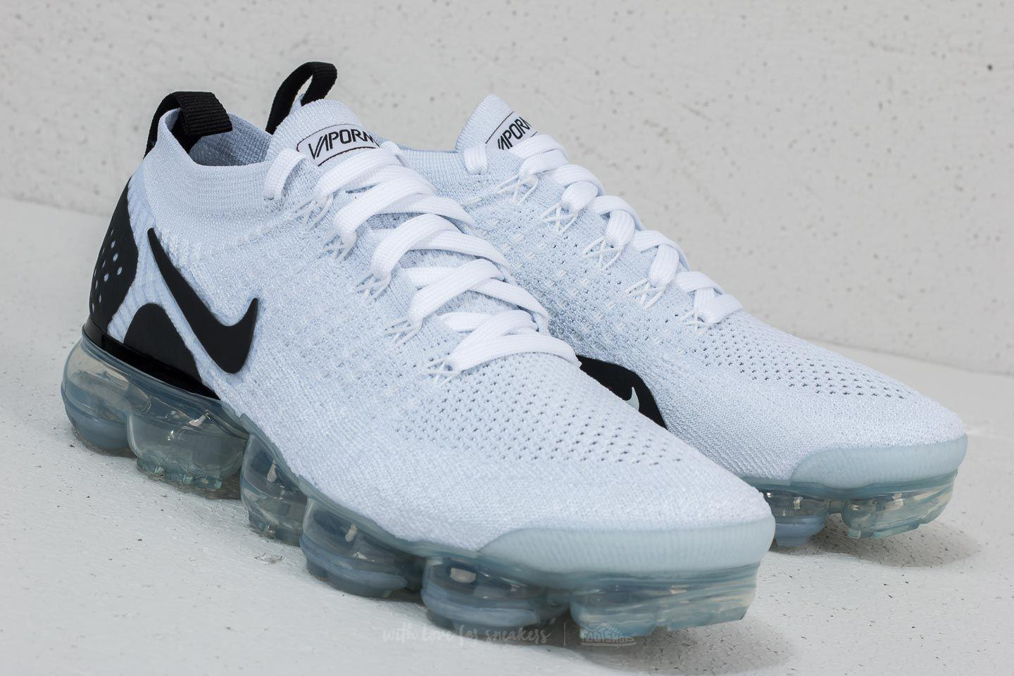 competitive price 96f9f 1111c Nike Air Vapormax Flyknit 2 White/ Black-black for men