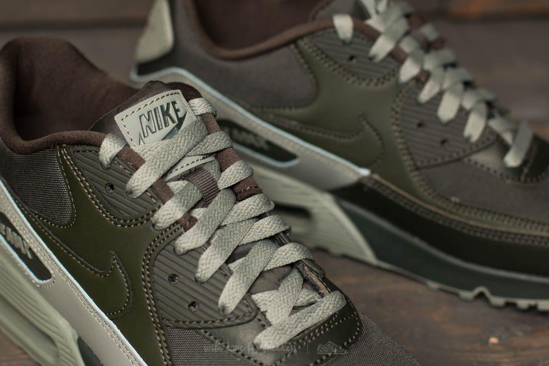 Nike Leather Air Max 90 Essential Sequoia Sequoia dark