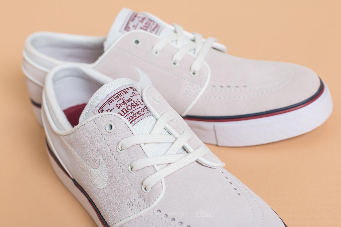 brand new 225a4 efb98 Lyst - Nike Sb Wmns Zoom Janoski Summit White  Ivory-team Red in White