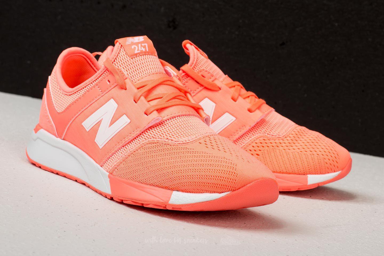 NEW BALANCE WRL247 B Sneakers for Women Orange