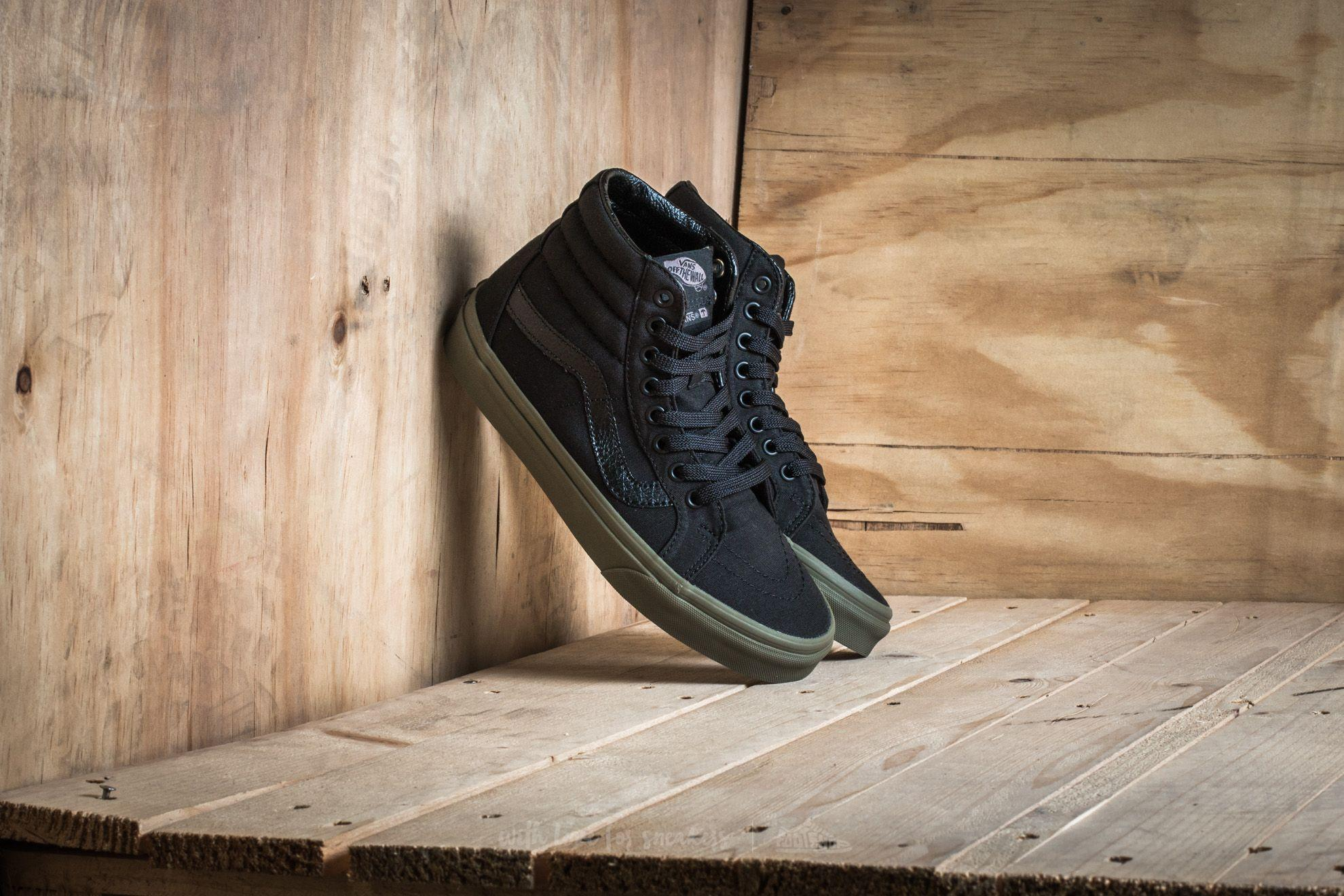f1642cb0dae15b Lyst - Vans Sk8-hi Reissue Guard Black  Ivy Green in Black for Men