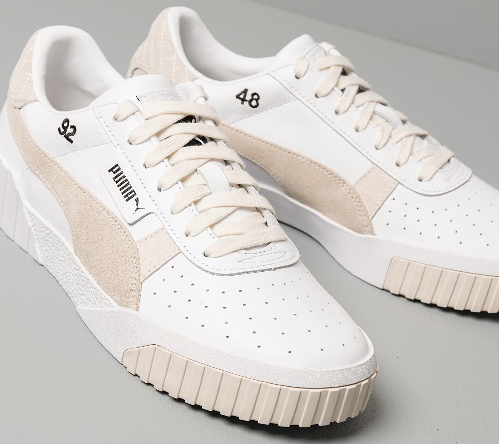 X Selena Gomez Cali Leather Suede White/ Silver Gray