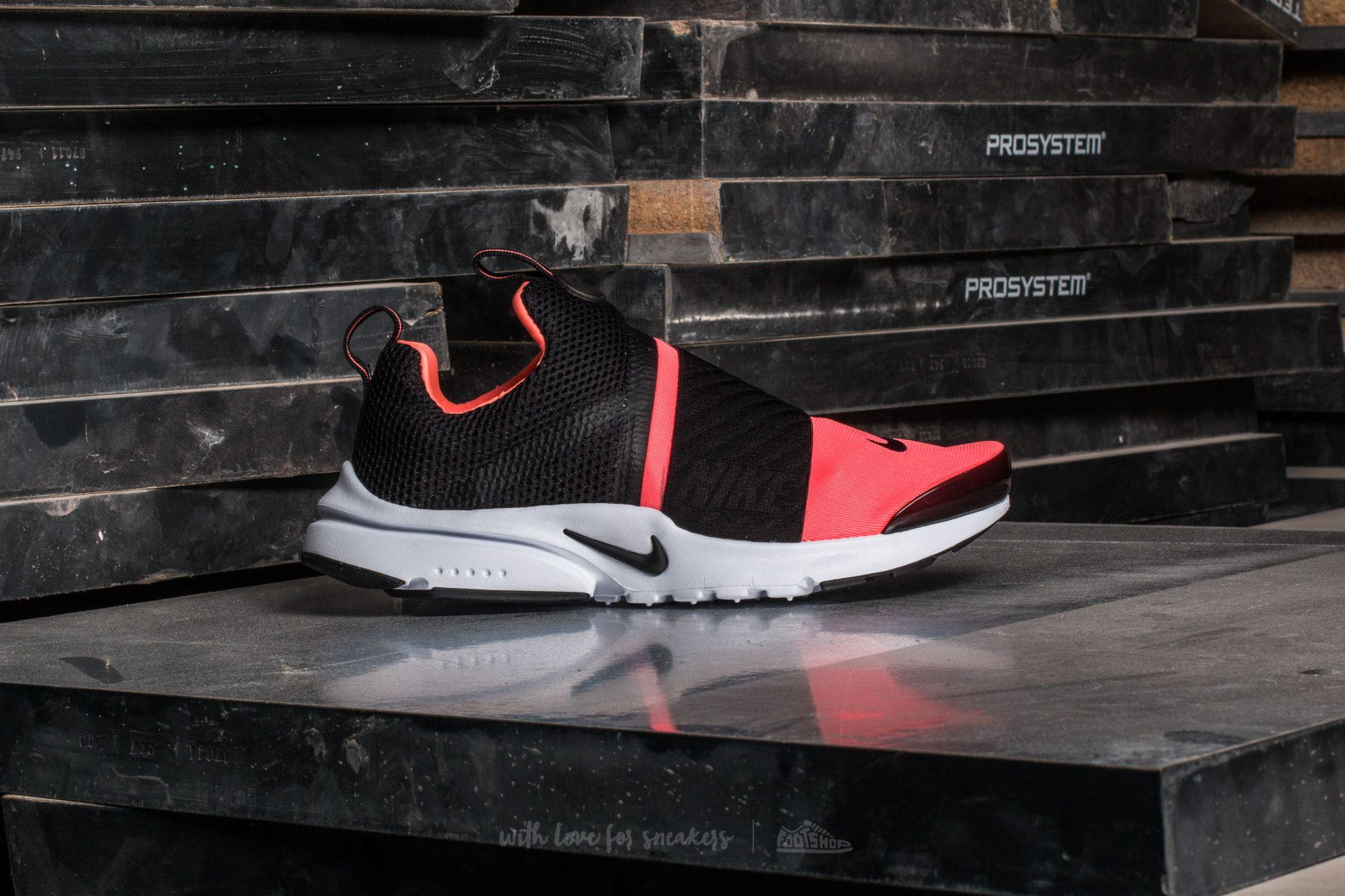 huge discount b6762 418c3 Nike Presto Extreme (gs) Black  Black-lava Glow-white in Black - Lyst