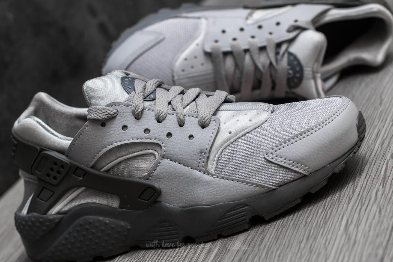Lyst - Nike Huarache Run (gs) Wolf Grey  Cool Grey in Gray a2bbcdfe9