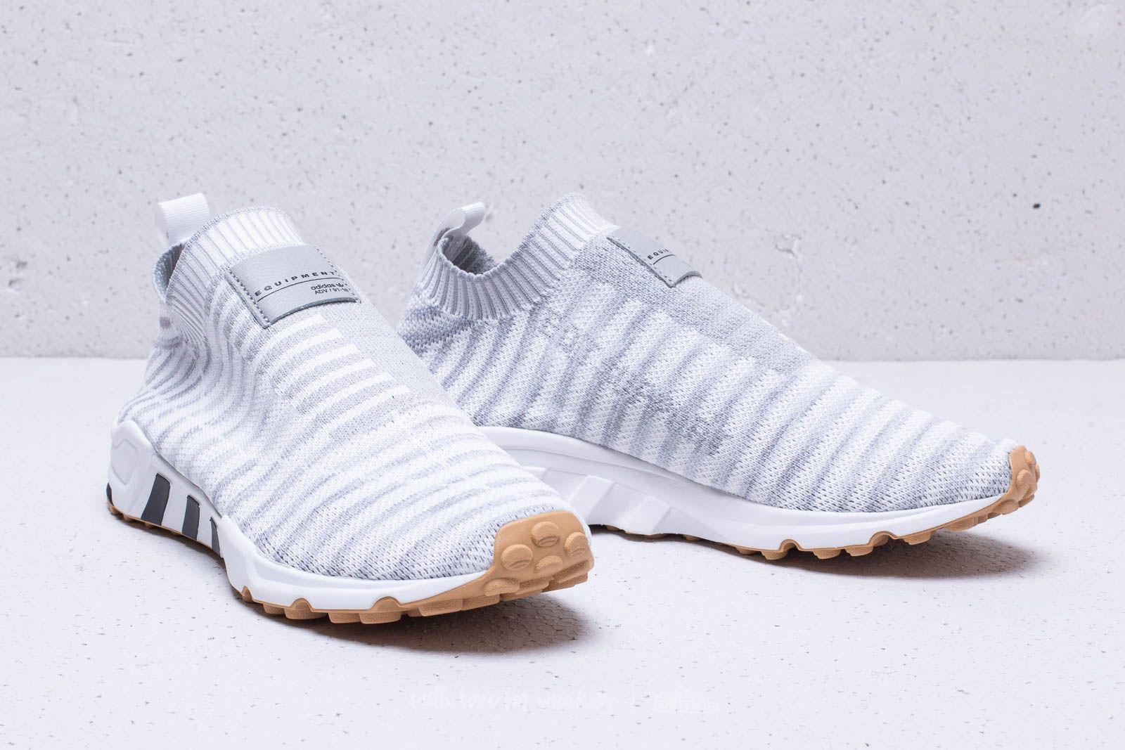 Adidas Originals - Adidas Eqt Support Sk Primeknit W Ftw White  Crystal  White  Gum. View fullscreen feb4ada8d14