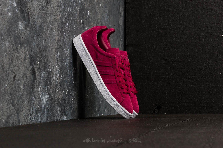 adidas Adidas Campus Stitch And Turn Mystery Ruby/ Mystery Ruby/ Ftw White XOlclN