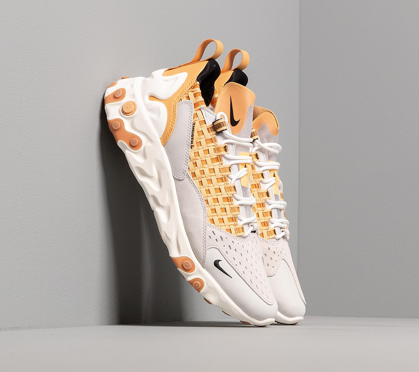 Nike React Sertu Vast Grey/ Black-lt Smoke Grey-honeycomb in Gray ...
