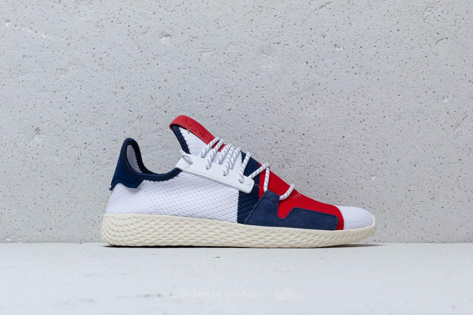 Adidas Originals Adidas x Pharrell Williams BBC Hu V2 Footwear White Scarlet für Herren
