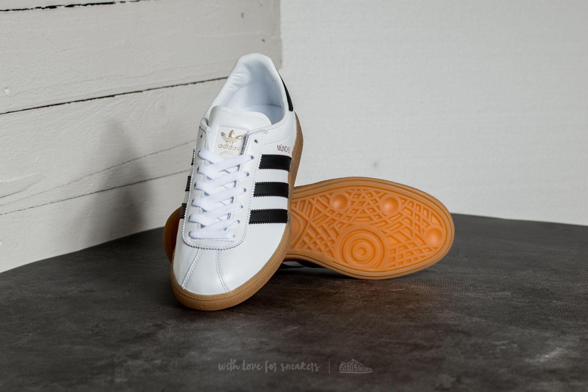 new style 13525 bea71 Lyst - adidas Originals Adidas Munchen Ftw White Core Black